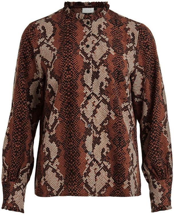 Vityda l/s shirt Tigers eye