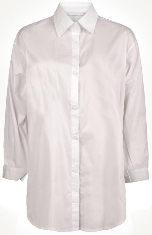 Perla Nera basic blouse White
