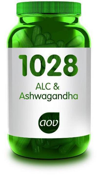Foto van 1028 ALC&ashwagandha (AOV)   60cap