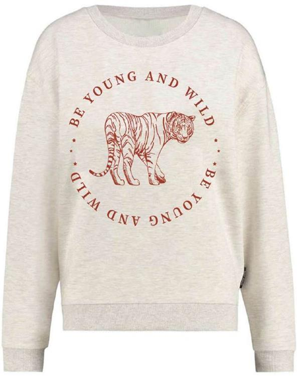 Onlzenia life l/s tiger box swt Oatmeal/young