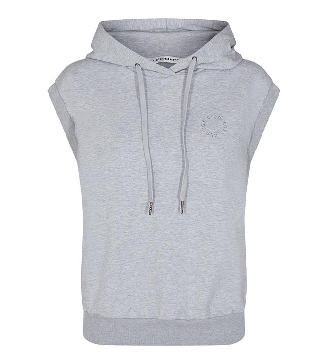 Co'Couture - Rush Hoodie Grey Melange