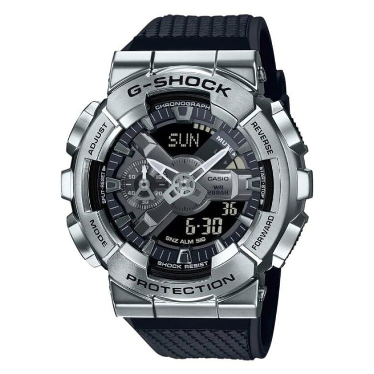G-Shock GM-110-1AER - Metalized Silver