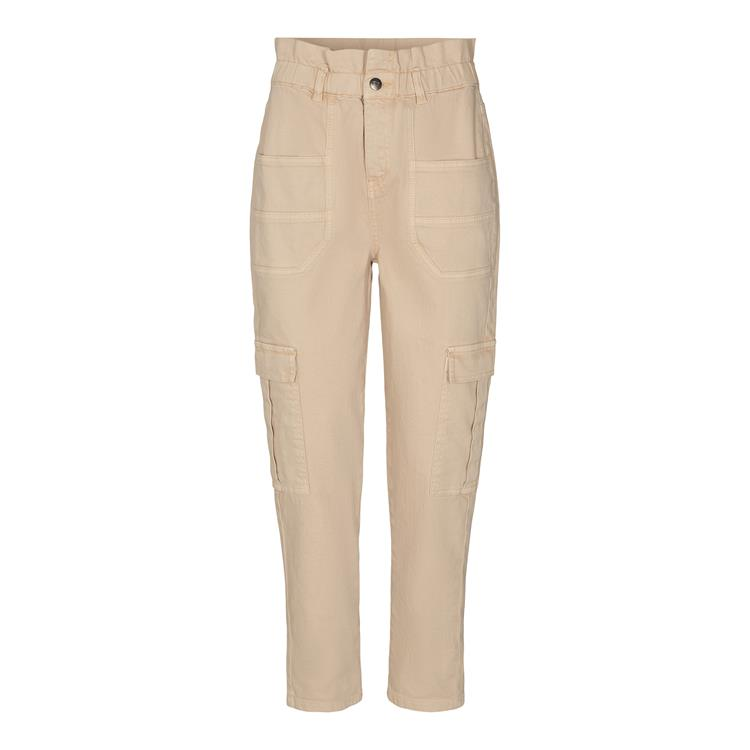 Co'Couture - Rayna Cargo Jeans Bone