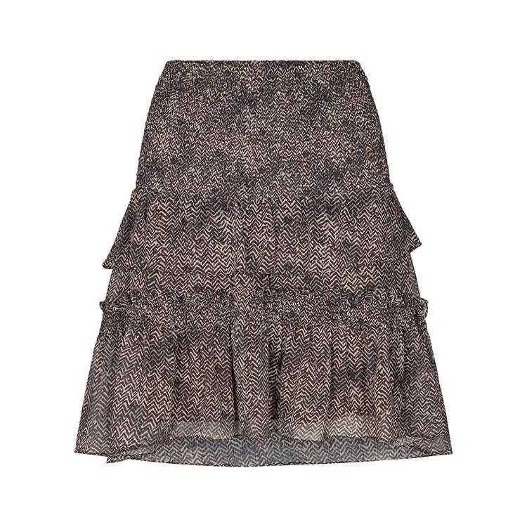 Co'Couture - Zorro Smock Skirt Mocca