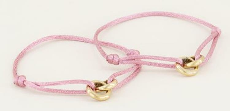 My jewellery roze forever connected armband goud