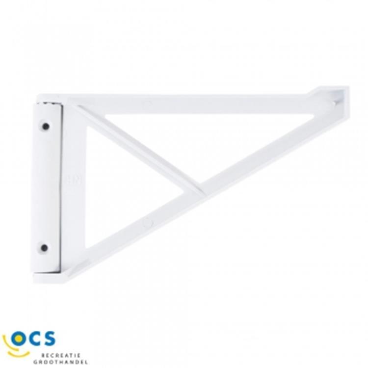 OCS keukenbladhouder 200x80 mm - wit