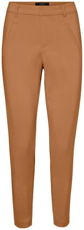 Vmvictoria mr antifit ankle pants color Tobacco brown