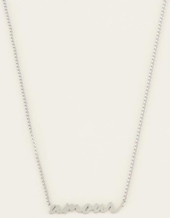 My Jewellery ketting Amour Zilver