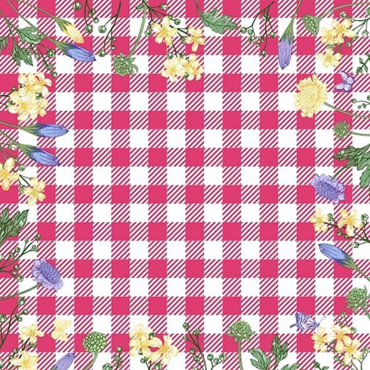 Duni Servetten Spring Table Pink - 33x33 cm
