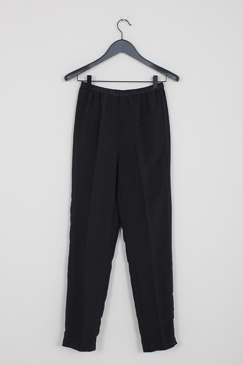 Forte Forte twill elasticated pants nero