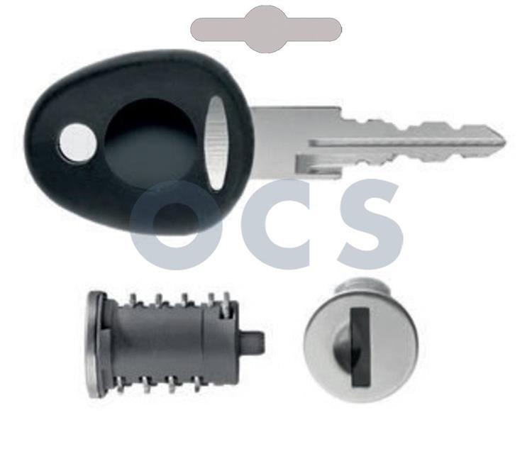 OCS cylinder met 2 sleutels nr. 4351 FF2