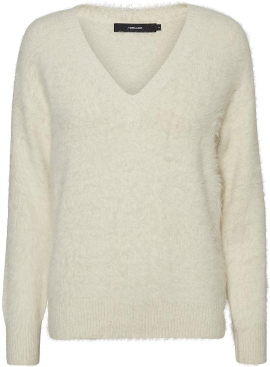 Vmpoilu ls v-neck blouse lcs Birch