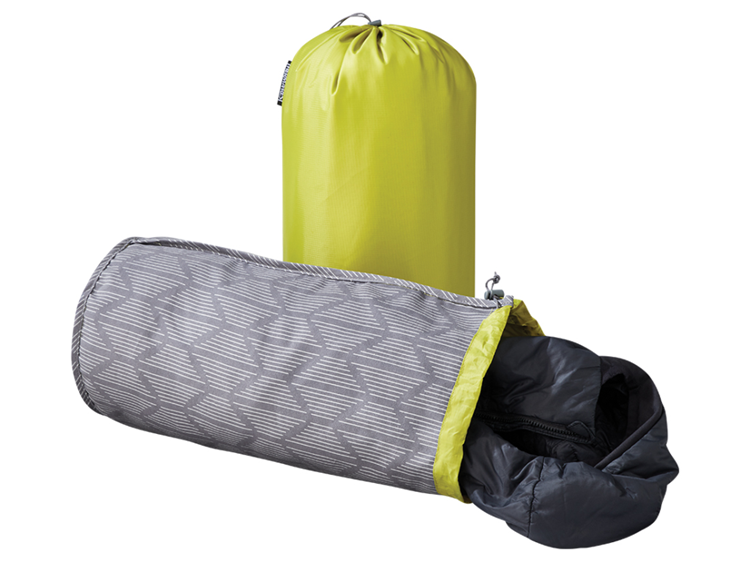 Therm A Rest Stuffsack Pillow - Limon/Gray Print Kussen