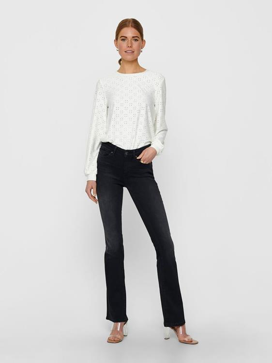 ONLY BROEK BLUSH LIFE MID FLARED