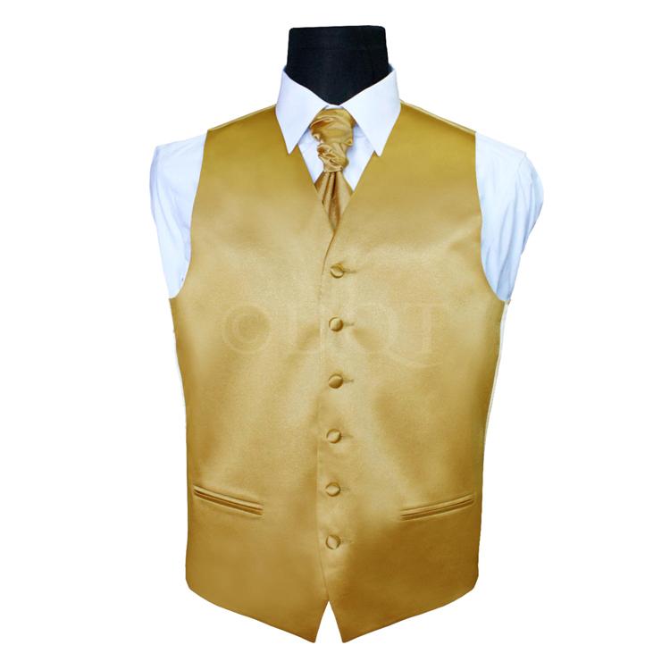 6 delig antraciet grijs kostuum gekleurd vest stropdas gold - Grijs gekleurd ...