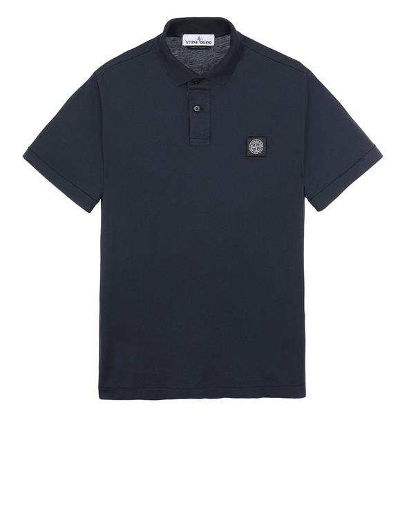 Stone Island 22613 Polo in Blue (D.Blauw)