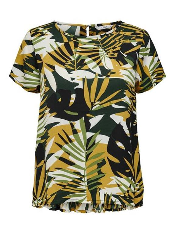 Only T-Shirt Libby S/S Plisse