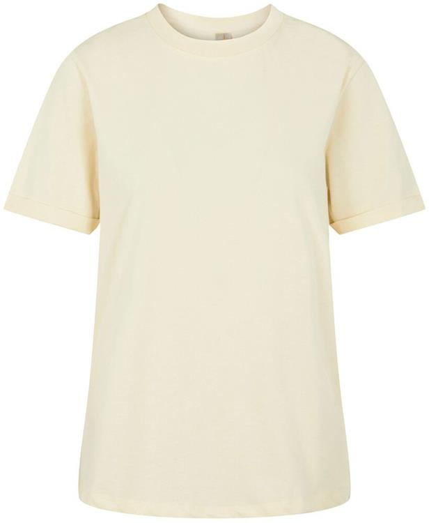 Pcria ss fold up solid tee noos bc Almond oil