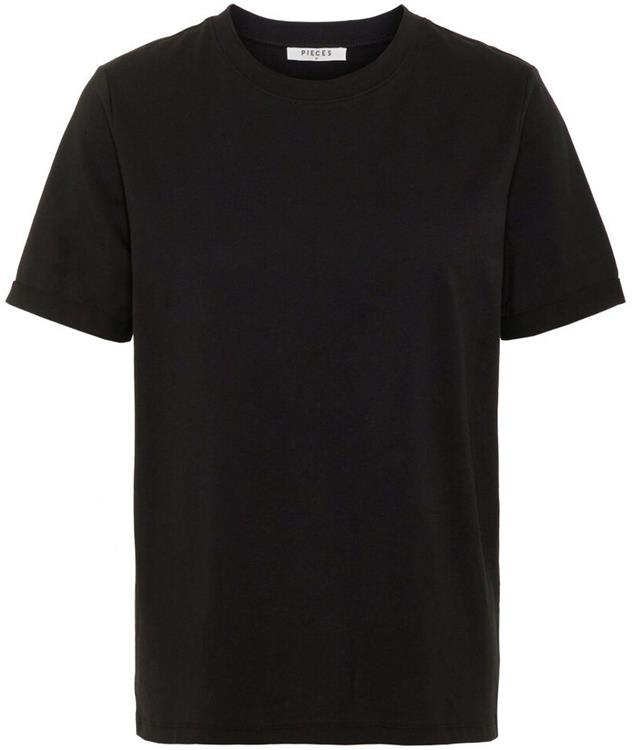 Pcria ss fold up solid tee noos bc Black