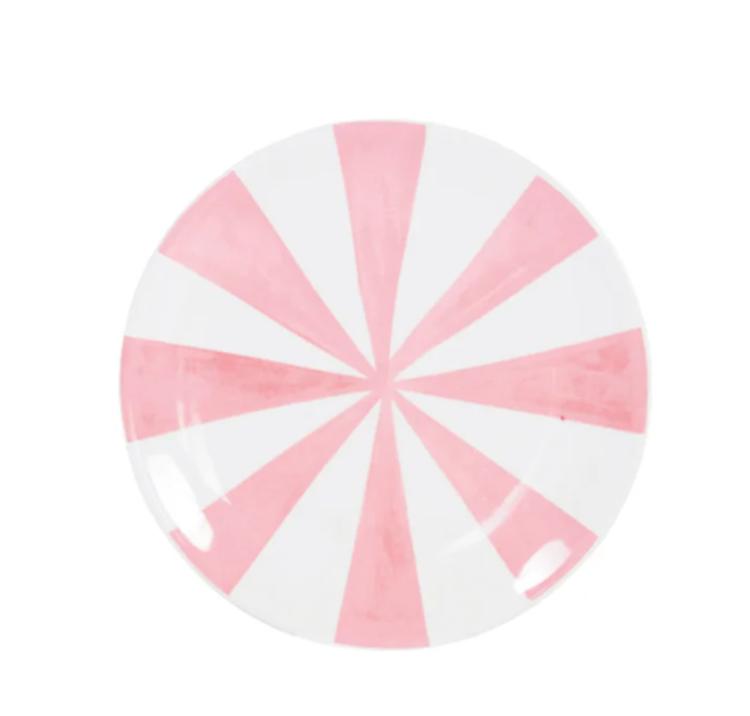 Blond Amsterdam Uni Bord Pink Stripes - 18 cm