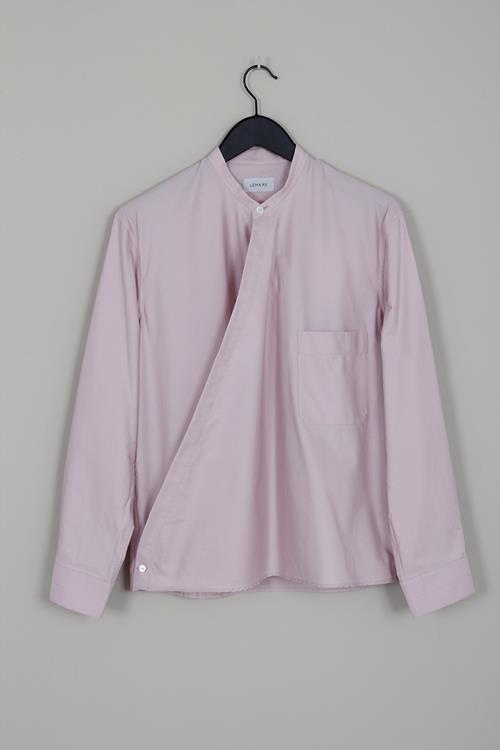Lemaire wrapover shirt violet ice