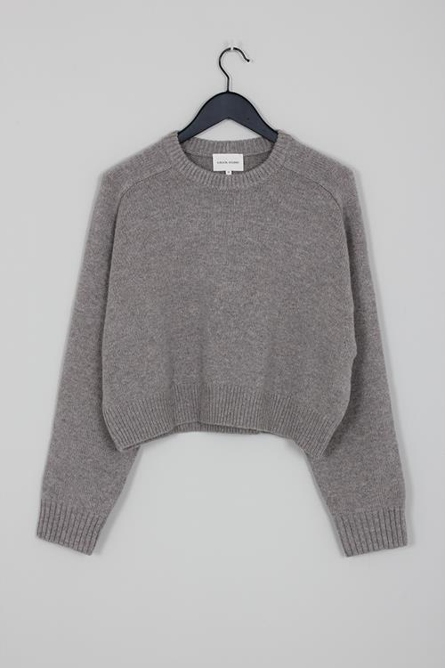 Loulou Studio sweater bruzzi brown melange