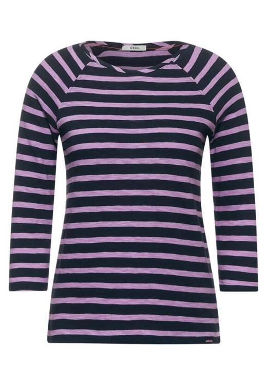 Cecil Shirt Striped Raglan