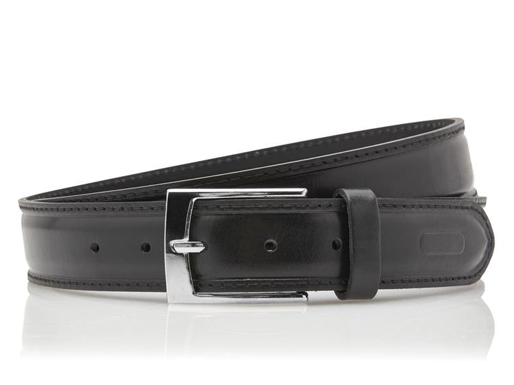Heren pantalon riem zwart 30mm