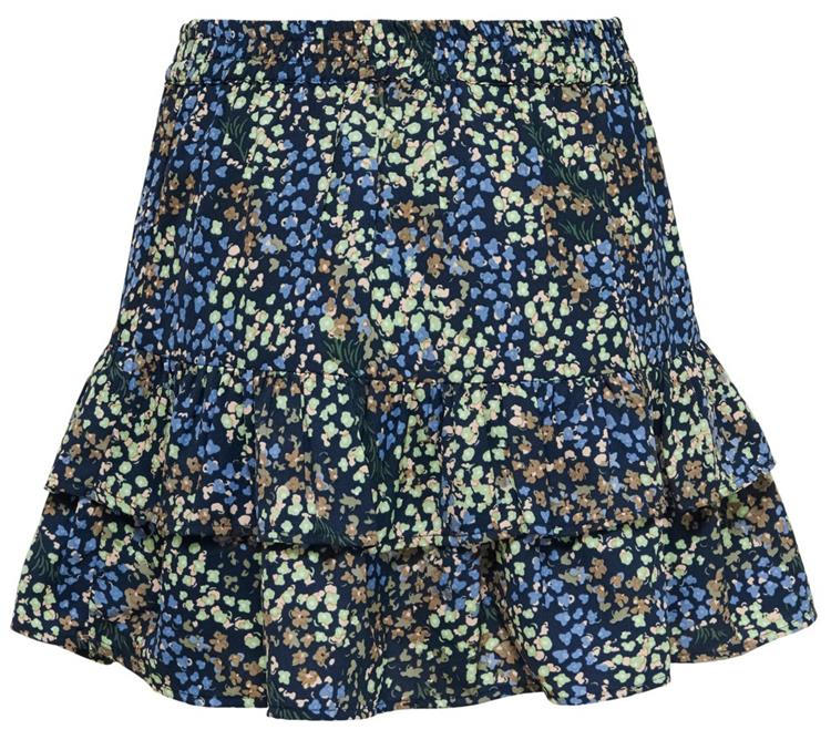 Jdymia skirt wvn Night sky/ABSTRACT