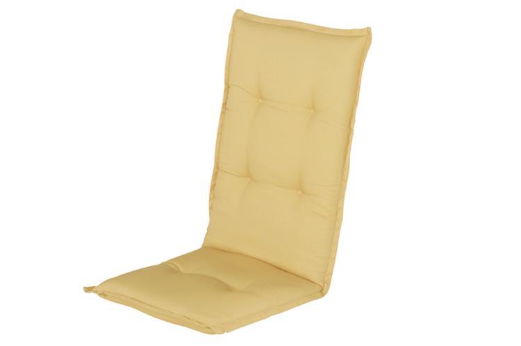 Hartman Cuba Yellow hoge rug kussen 123x50 cm