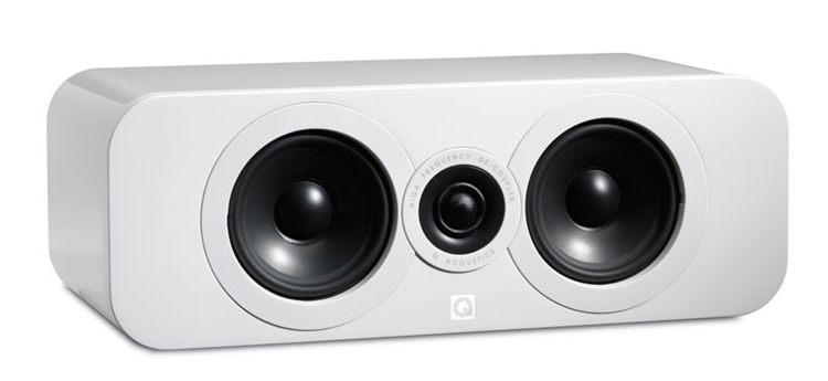 Q Acoustics 3090C Center Hoogglans Wit