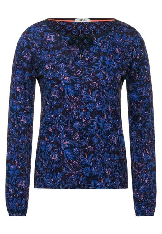 Cecil Top TOS Flower AOP Tunic 315790