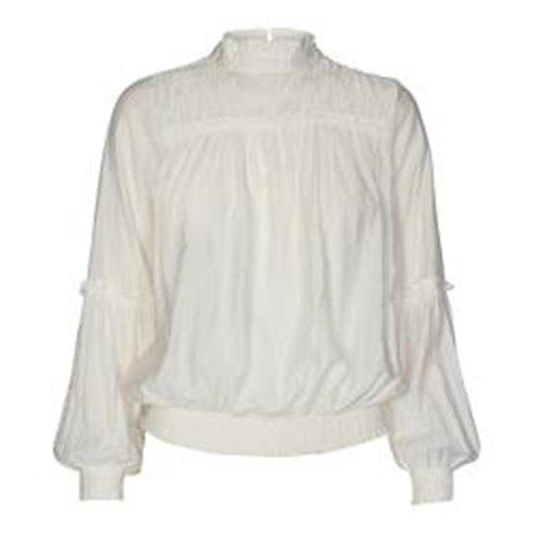 Co'couture Avery frill smock blouse