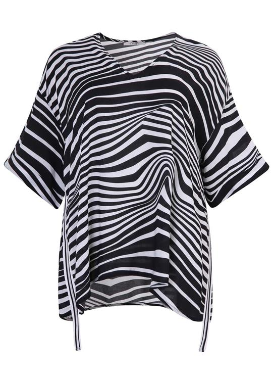 Mat Fashion blouse 7501.1029 Zwart