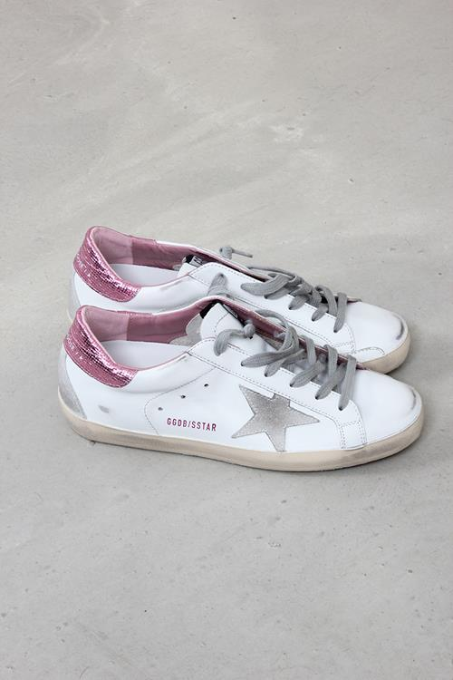 Golden Goose sneaker superstar white ice pink