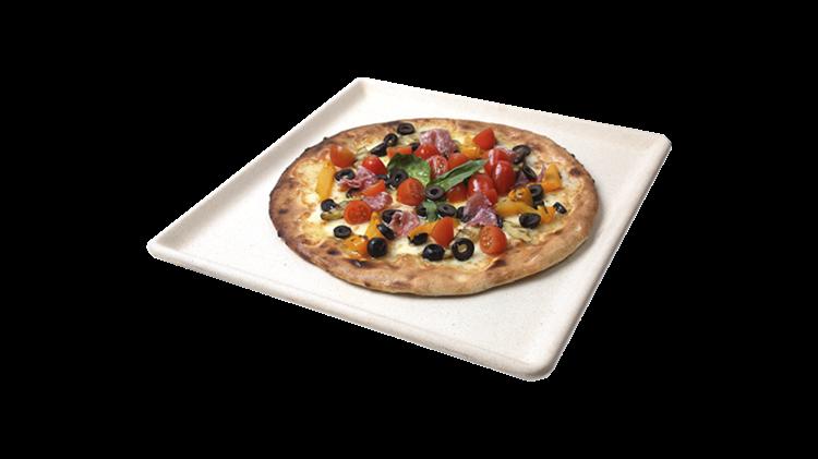 Boretti pizzasteen wit
