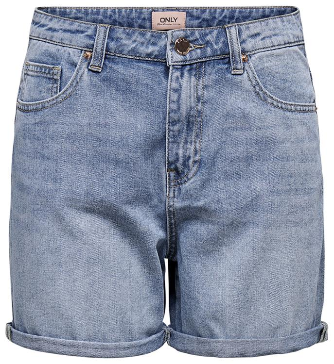 Onlphine life shorts mas0001 noos Light blue denim