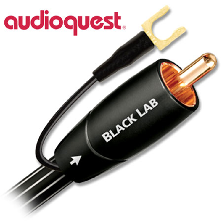 Audioquest Black Lab 2,0m Subwoofer kabel