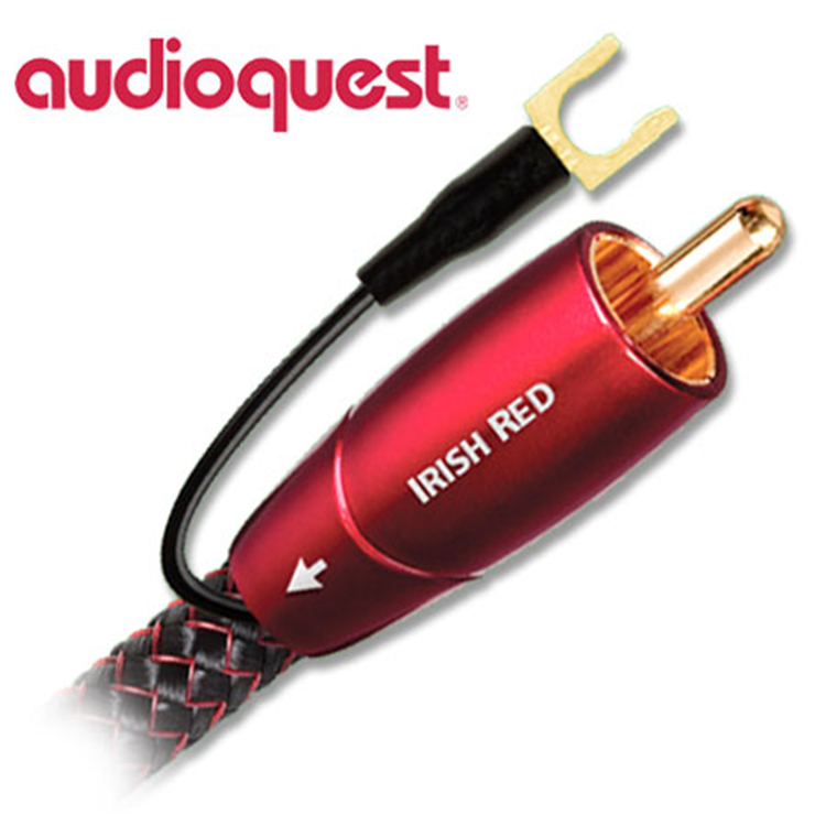 Audioquest Irish Red 8,0m Subwoofer kabel