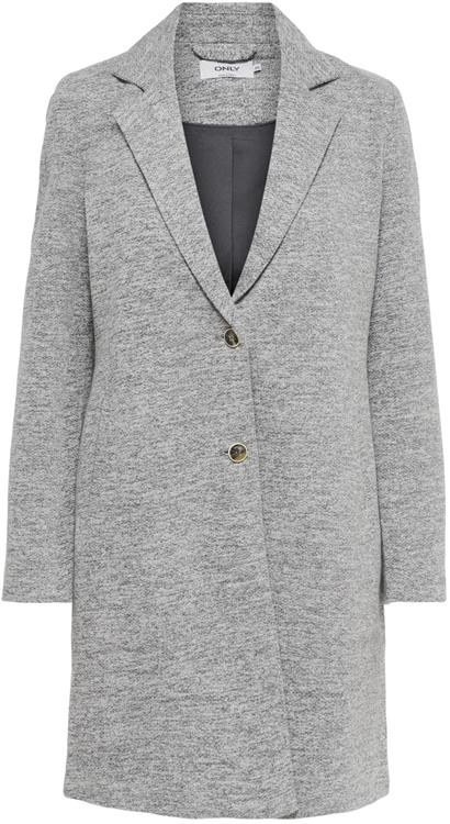 Onlcarrie mel coat Light grey melange
