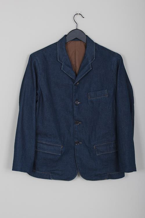 Lemaire boxy jacket jean blue