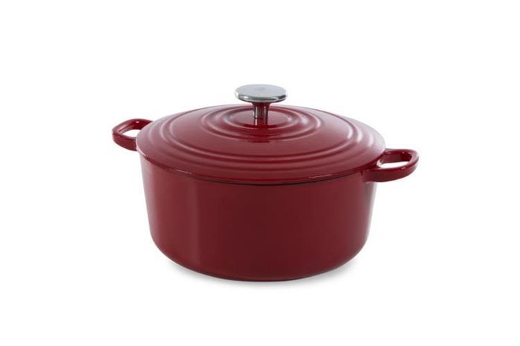 BK Bourgogne braadpan 28 cm - chili red