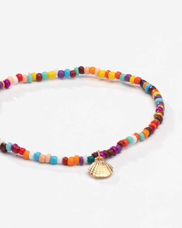 Colorful Bead Anklet
