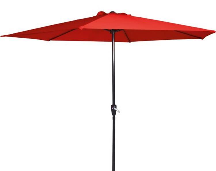 Lesli Living parasol Gemini Ø3 meter - rood