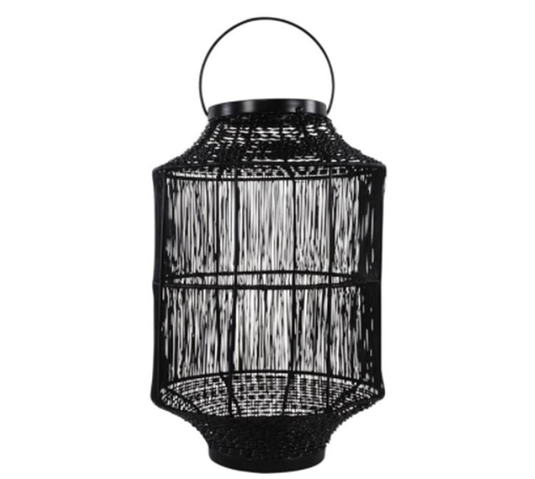 Lesli Living lantaarn Wire Ø24 cm - zwart