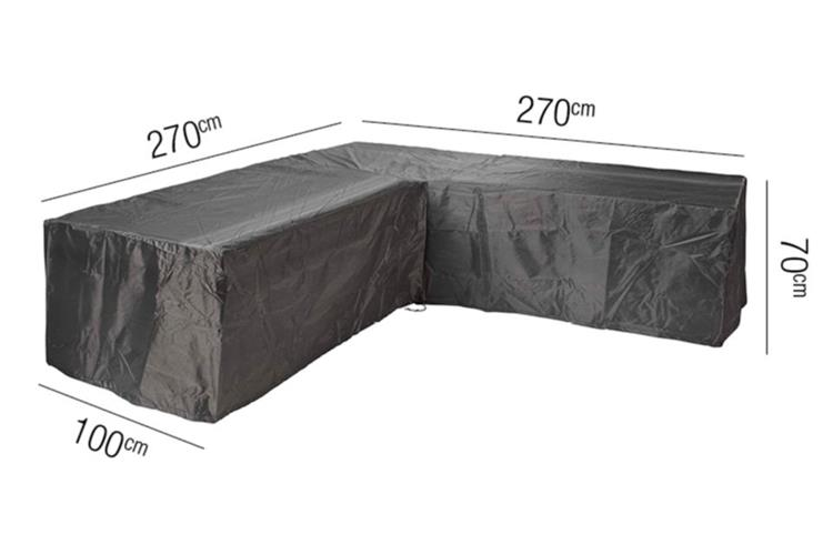 AeroCover beschermhoes loungeset L-vorm 270x270x100xH70 cm