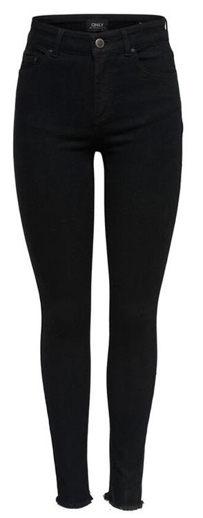 Onlblush mid ankle skinny jeans Black