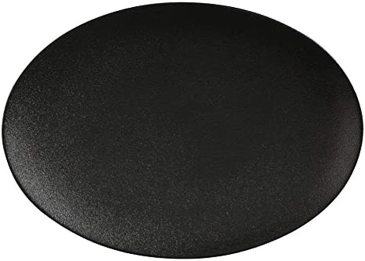 Maxwell&Williams Caviar Black bord ovaal - 30x22 cm