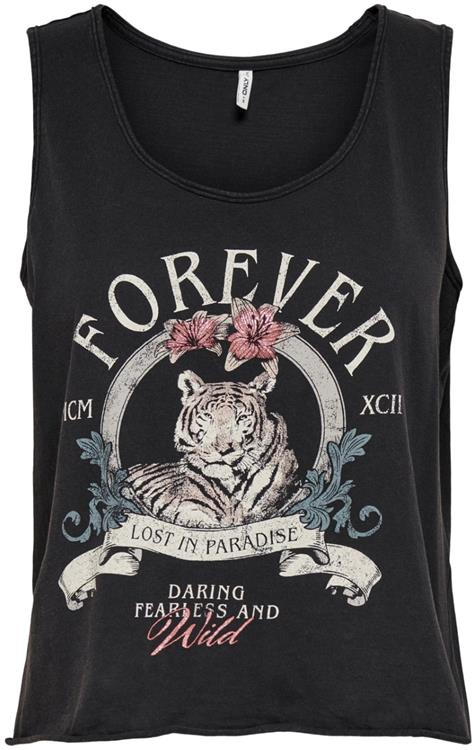Onllucy life tank s/l top box jrs Black/forever