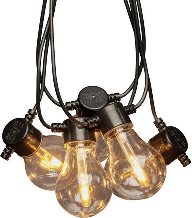 Konstsmide LED lichtsnoer 10 lampen - 4,5 meter